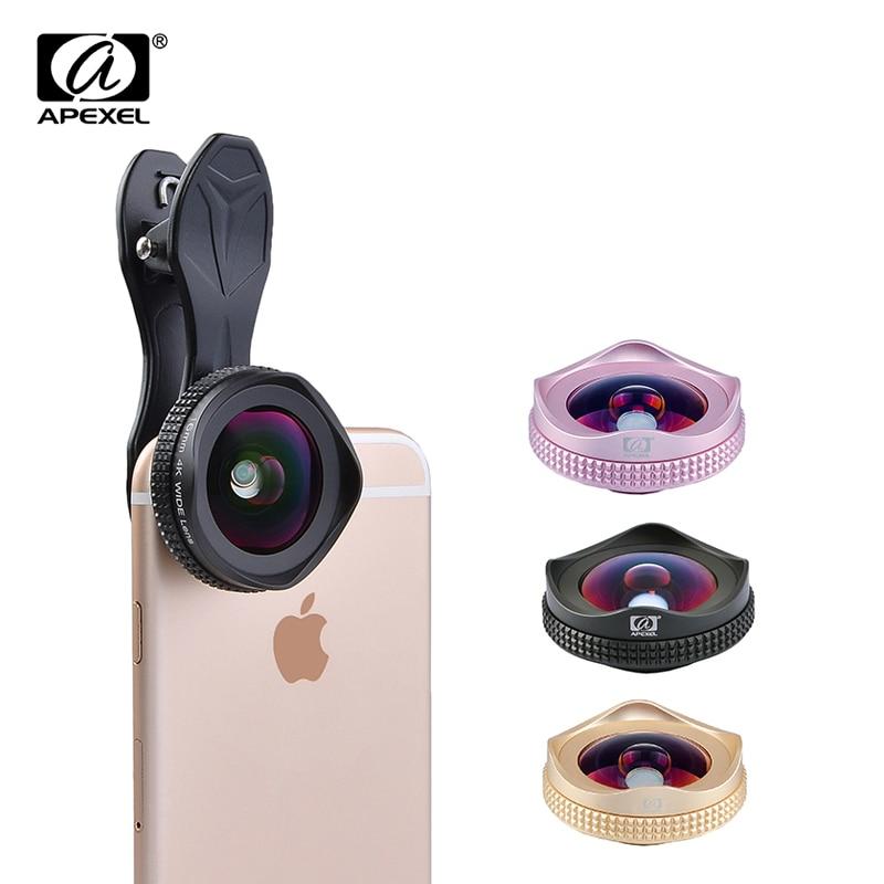 bilder für Original APEXEL4k Weitwinkelobjektiv 16mm super weitwinkel handy objektiv mit CPL Filter objektiv mehr landsape für iPhone6s Xiaomi