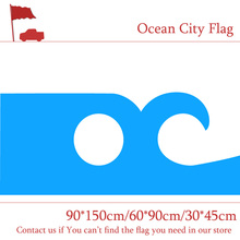 Free shipping Ocean City Flag Of Maryland State 60*90cm 90*150cm 3x5ft Custom High-quality Banners 30*45cm Car