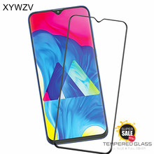 Full Glue Cover Glass For Samsung Galaxy M10 Screen Protector Tempered Phone Film <