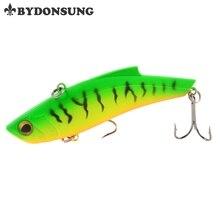 BYDONSUNG 9cm 27g VIB Vibration laborious bait perch killer fishing lures sharp hooks Crankbaits Wobblers 5 Colours