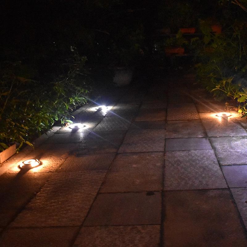 Solar Road Stud Verlichting Aluminium 4 LED Outdoor Road Oprit Dock ...