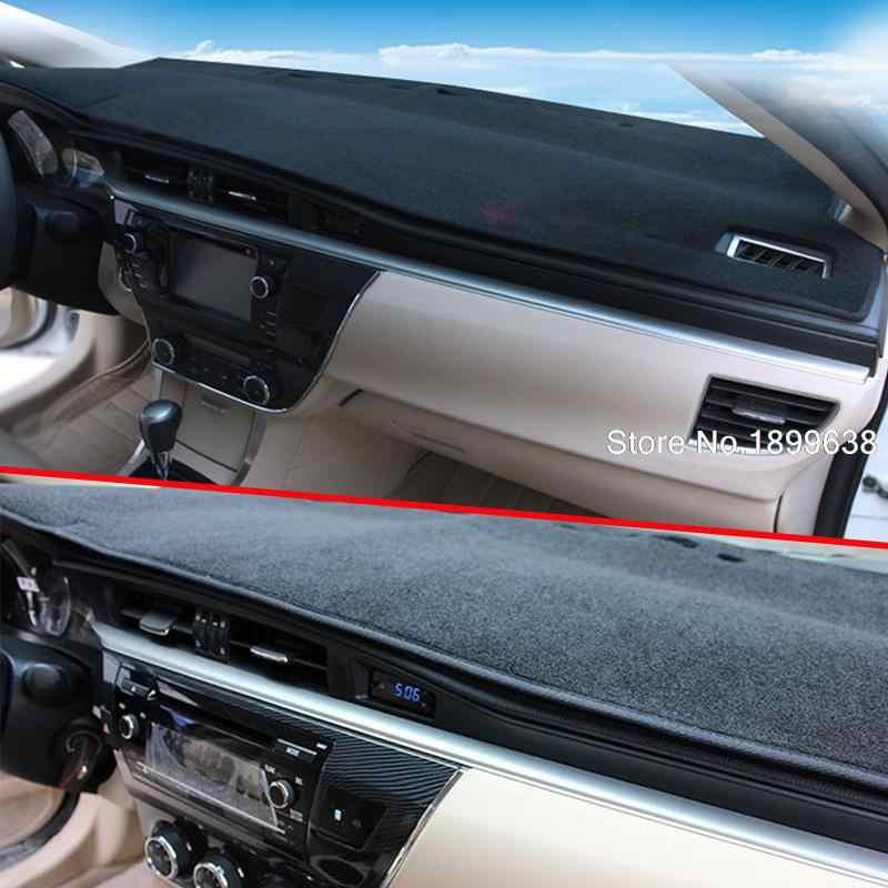 車のダッシュボードライトパッド計器プラットフォームデスクカバーマットカーペット回避自動車の付属品カースタイリング日産シルフィ 2006- 15