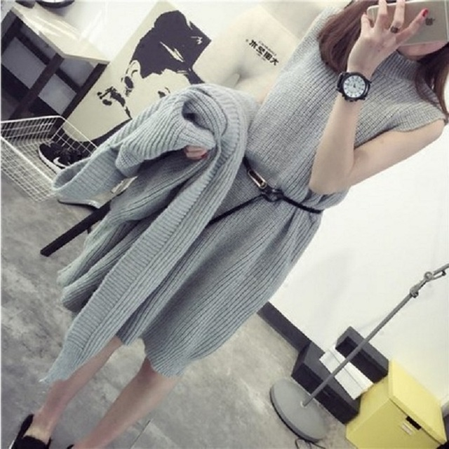 Autumn sweater cardigan sweater suit Maternity Pregnant Women loose Long-sleeved Sweater Pattern Knit Sweater Coat Large Yards