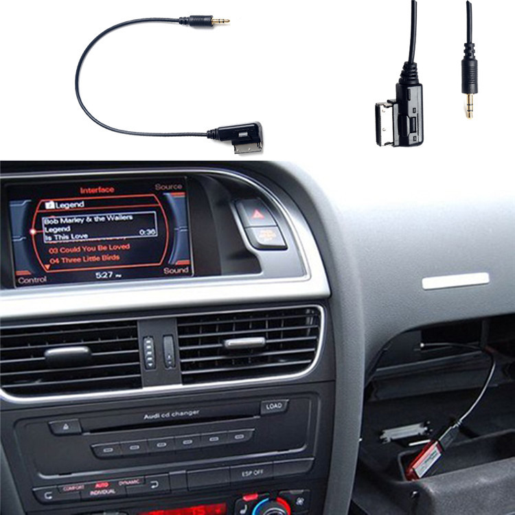 Mm Car Aux Audio Usb Cable For Iphone