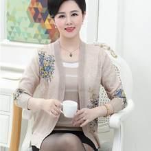 a1c81da9bacd Clobee de Primavera de 2018, chaquetas de las mujeres blusa de punto traje  madre de conjunto de ropa de mujer de manga larga más.
