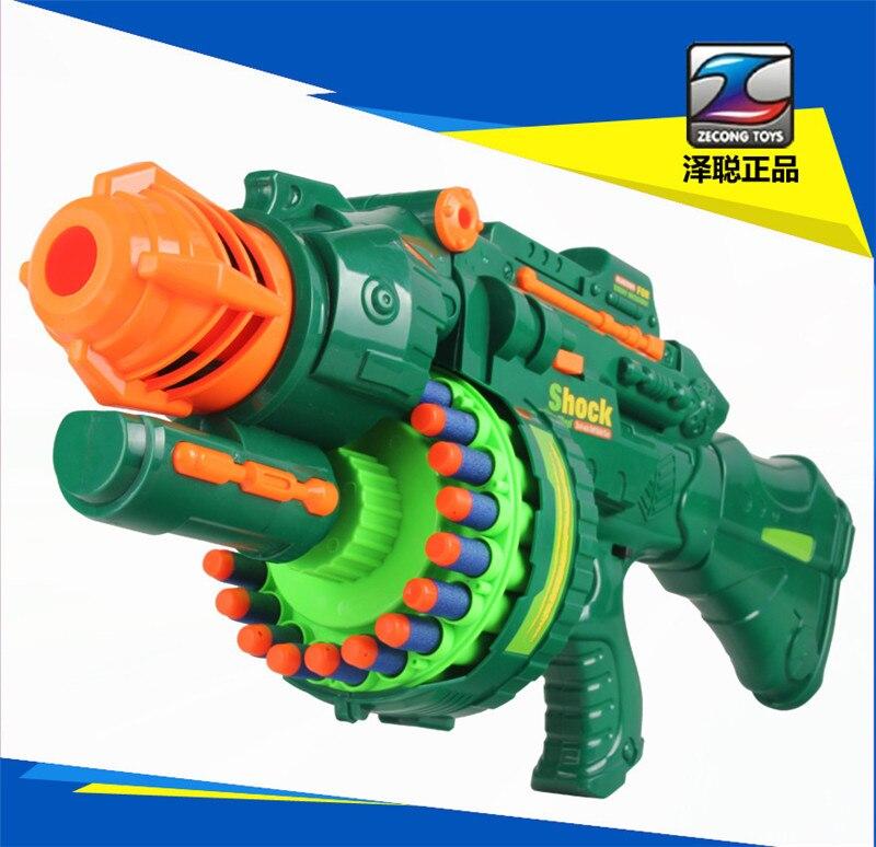 2016 Fun Nerf gun New Air Soft Gun Toy Paintball Pistol Bullet Outdoor Sports Guns - Ulego Toybar store