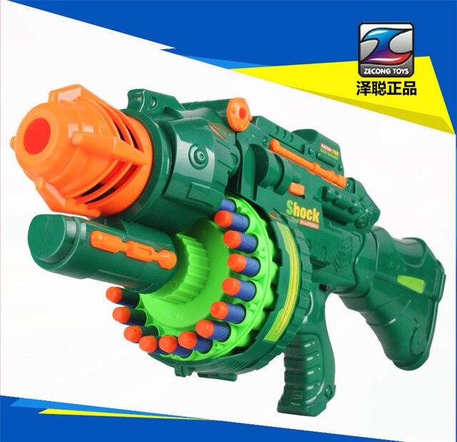2016 Fun Nerf gun New Air Soft Gun Toy Paintball Pistol Soft Bullet Gun  Outdoor Fun