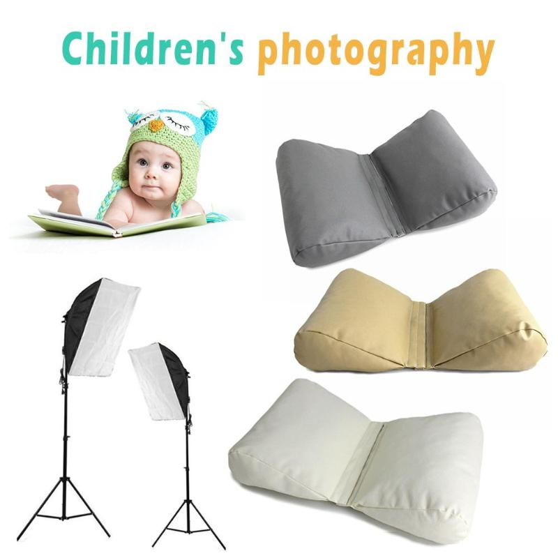 Newborn Baby Photography Props Accessories Wedge Shaped Posing Pillow Infant Butterfly Cushion Pictures Prop