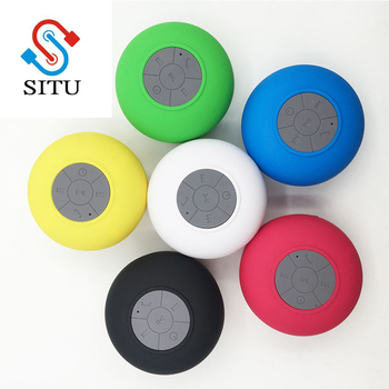Cheap Portable Bluetooth Wifi Speaker Mini Waterproof Shower Speaker for iPhone MP3 Handfree Car Speaker Bluetooth Receiver Audio Speakers Consumer Electronics Electronics Speakers