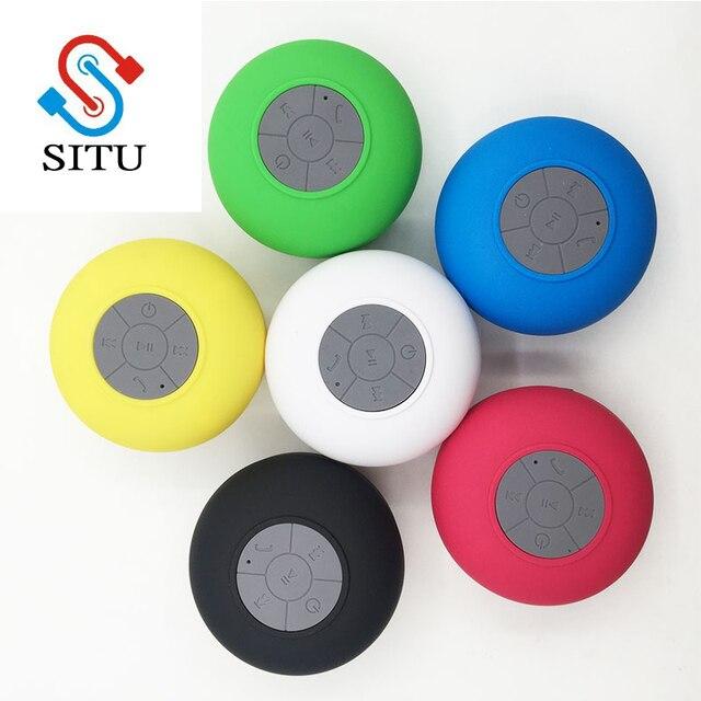 Cheap Portable Bluetooth Wifi Speaker Mini Waterproof Shower Speaker for iPhone MP3 Handfree Car Speaker Bluetooth Receiver Audio Speakers Consumer Electronics Electronics Speakers