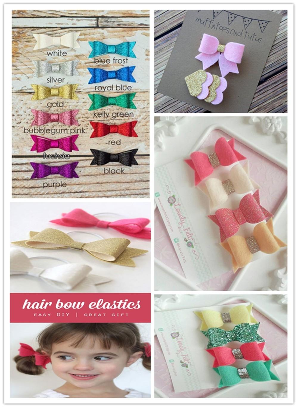 glitter fabric for hair