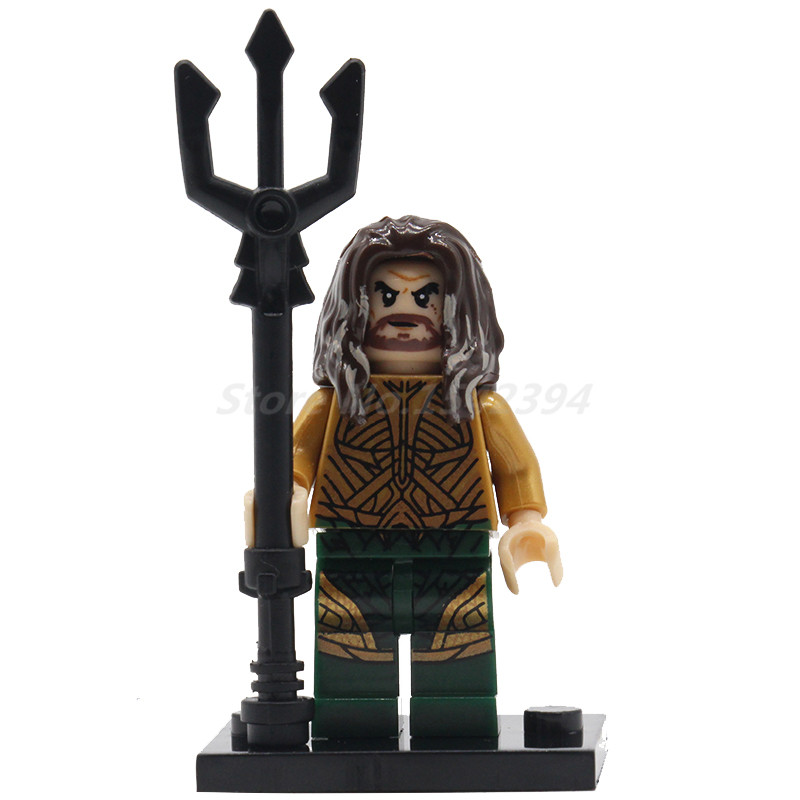 POGO Super Heroes Watchman Harley Quinn Scarecrow Aquaman Action Model Building Blocks Bricks DIY Toys For Children Gift nokotion mbbtest002 mb btest 002 laptop motherboard for acer 5530 5230 jawd0 la 4391p mainboard without graphics card free cpu