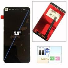"""Tela lcd gome u7, montagem digitalizadora, tela de toque e ferramentas de substituição 5.9"""""""
