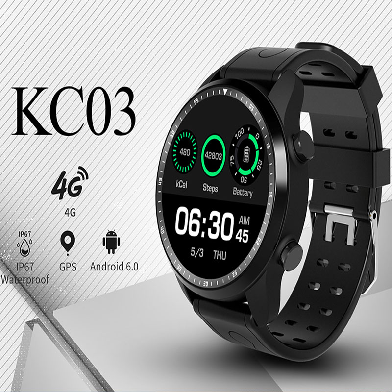 Kingwear 4G bluetooth Smart Watch KC03 2019 Support GPS 4G SIM Heart rates Anti-lost passometer IPS LCD Round screen smartwatchKingwear 4G bluetooth Smart Watch KC03 2019 Support GPS 4G SIM Heart rates Anti-lost passometer IPS LCD Round screen smartwatch