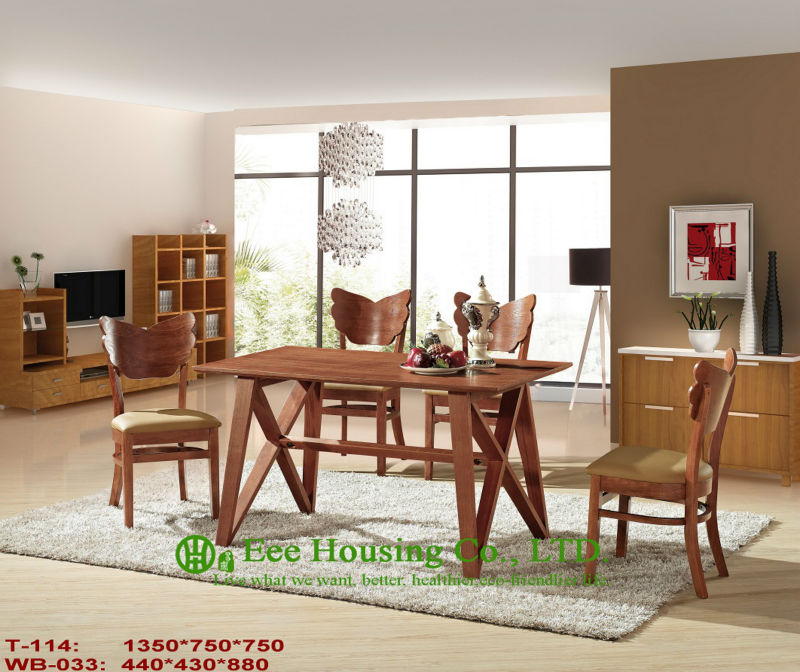 T-114,WB-033   Luxurious Solid Dining Chair,Solid Wood Dinning Table Furniture With Chairs/Home Furniture