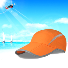 Asy Foldable Baseball Cap New 23 Inch Solid Color Breathable Wterproof Taslan Apparel Accessories Outdoors Hat For Man Wholesale