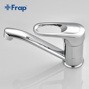 Image 5 - Бесплатная доставка, кухонный кран Frap с одной ручкой, поворот на 360 градусов, хромированная отделка, F4504 F4503 F4556 F4563