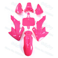 Pink Fairing Plastic Fender Body Kits For CRF50 XR50 Thumpstar SSR Pit Dirt Bike 50cc 70cc 90cc 110cc 125cc 140cc 150cc 160cc