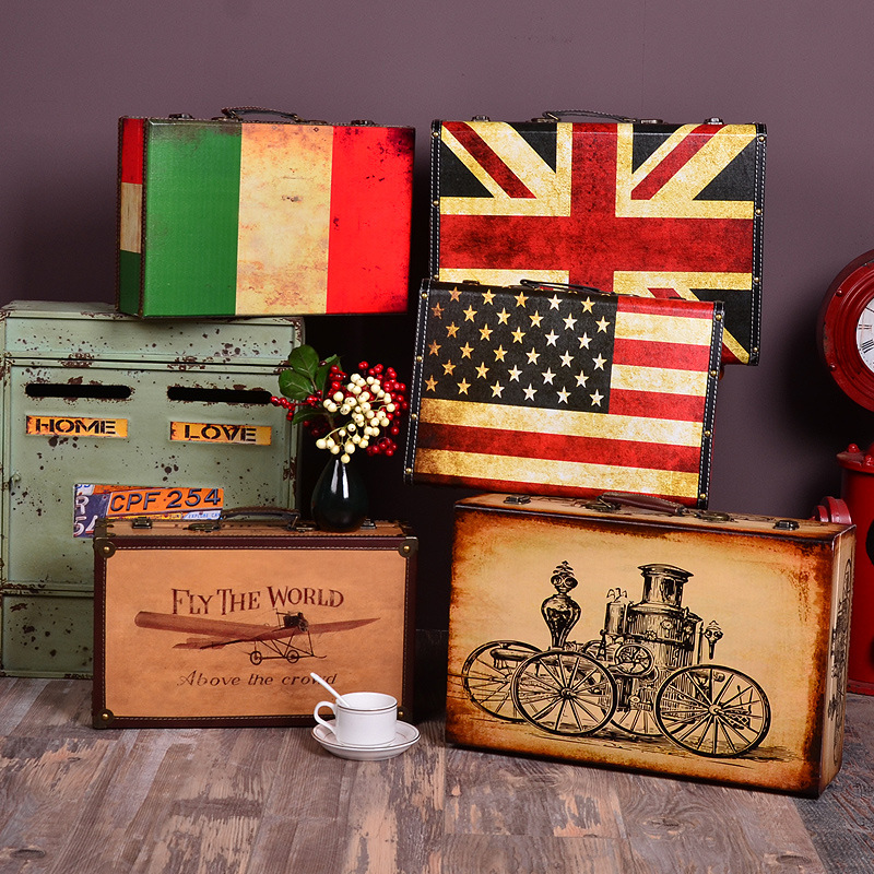 Online Buy Wholesale photography prop vintage suitcase from China ...