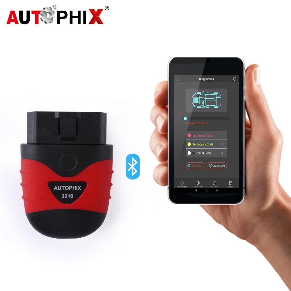 Autophix 3210 OBD2 Diagnostic Scanner and HUD On Board