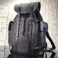 Новый для мужчин женщин рюкзак пояса из натуральной кожи водостойкие школьная сумка рюкзаки роскошные письмо сумки на плечо