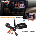 Carlinkit AirPlay Screen Mirroring Box for iPhone iOS11 Android Screen Miracast / WlAN Display Device Wireless Connection