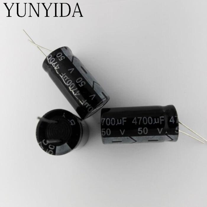 Aluminum Electrolytic Capacitor 50V  4700uf  3PCS