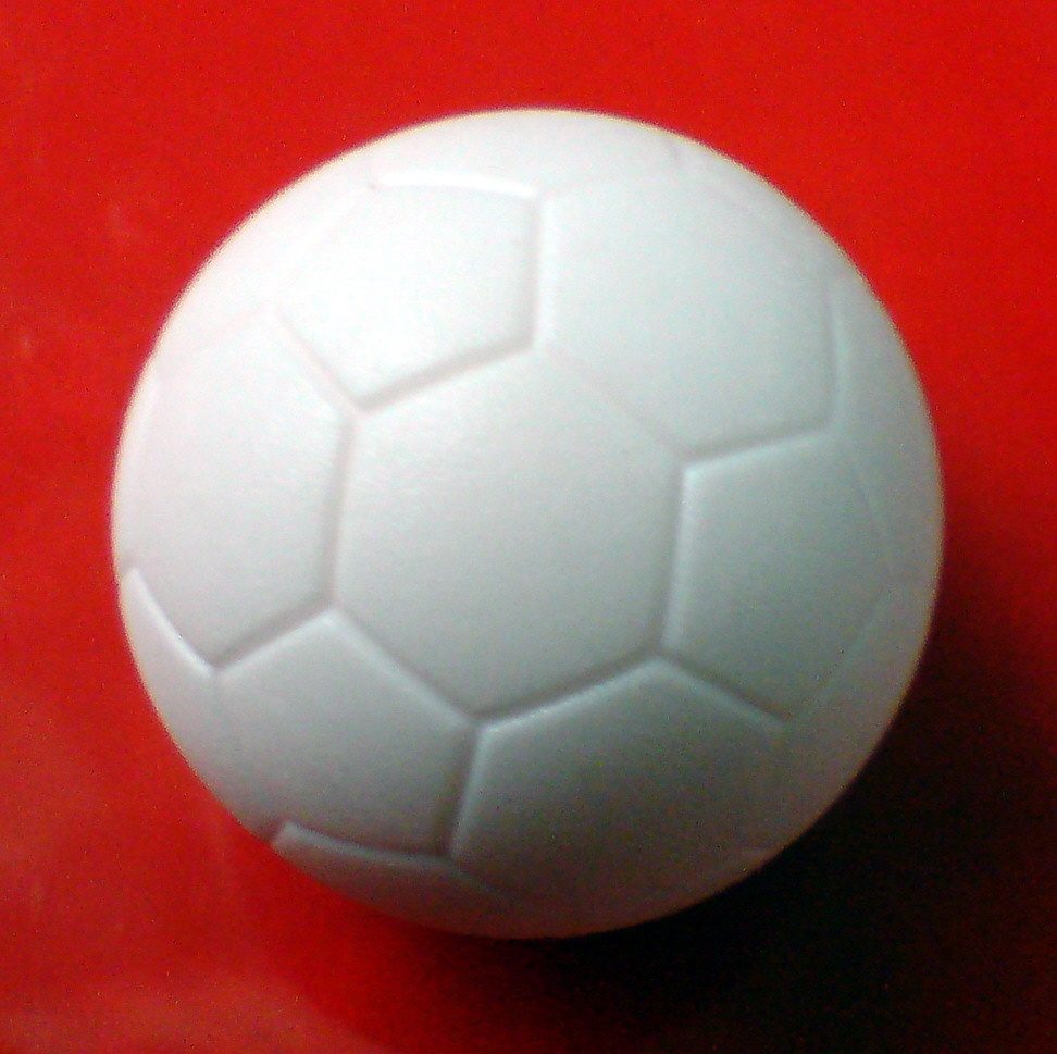 Free Shipping 10pcs/lot NEW 36mm Pure WHITE Foosball Table Soccer Table Ball Football Balls Baby Foot Fussball 06