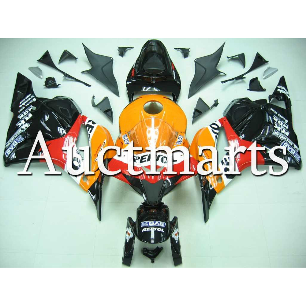 ABS Injection Fairings For Honda CBR 600RR 2009 2010 2011 2012 Orange Black Repsol Perfect Fit CBR600RR 09 12 Full Covers