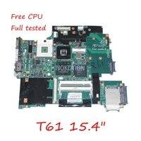 FRU: 43Y9047 11S42X6803 Ana kurulu için Lenovo IBM thinkpad R61 T61 15.4