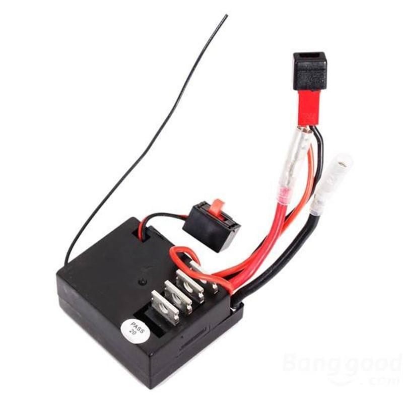 Wltoys A949 A959 A969 A979 K929 1/18 4WD RC Auto ricevitore/ESC Pezzo di Ricambio A949-56 Per Wltoys RC Auto Part Replacements accessori