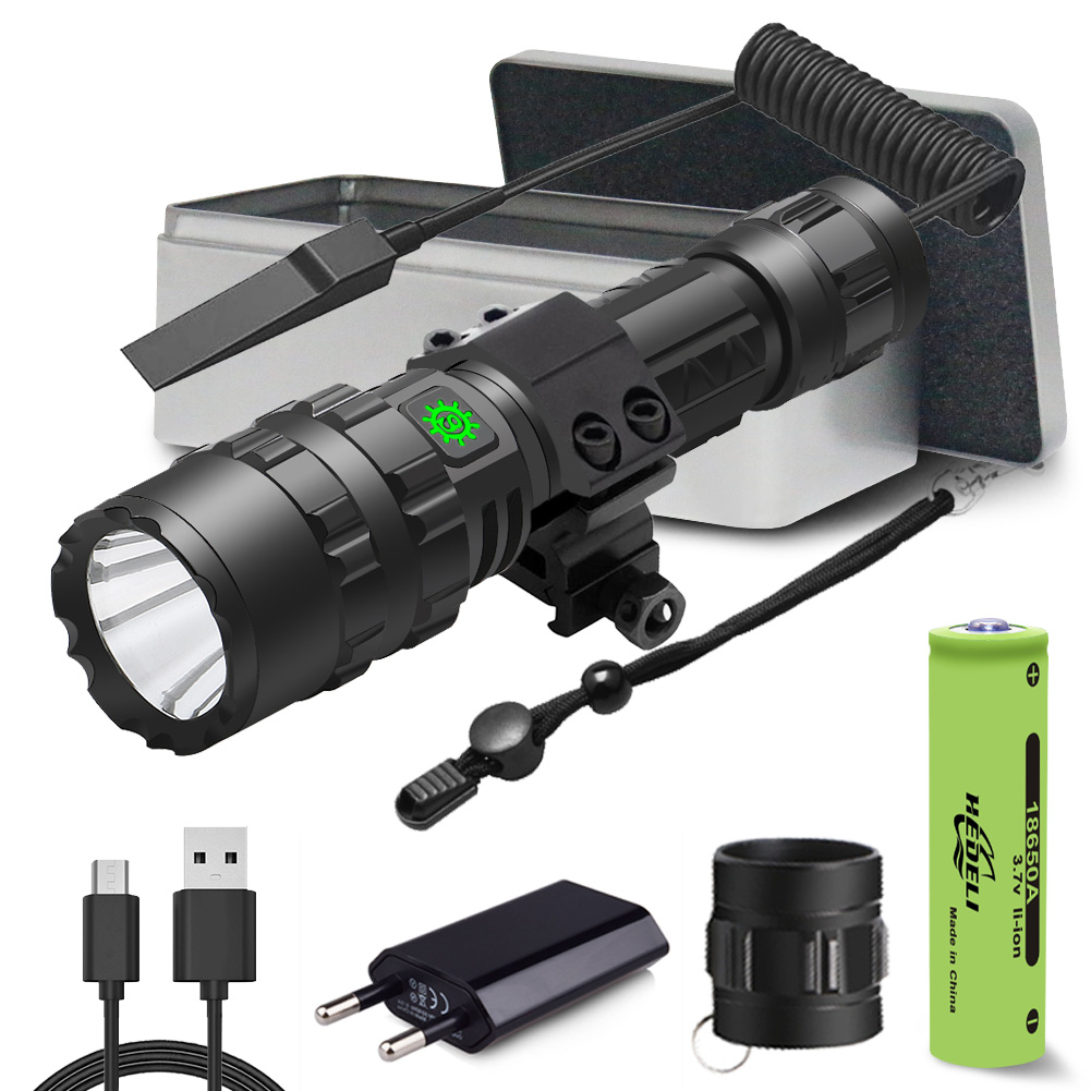 6000lumen Most Powerful Led Flashlight Usb Tactical Torch Light Rechargeable Hunting Led Flashlight Xml L2 Hand Lamp Flash Light