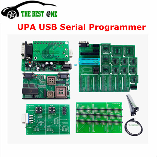 US $83 0 |2018 Latest V1 3 UPA USB Programmer Full Adapter UPA USB 1 3  EEPROM ECU Chip Tunning UPAUSB OBD2 Diagnostic Tool Free Shipping-in Code