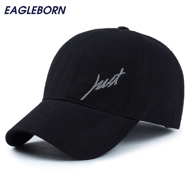 2018 100% cotton men's Baseball Caps Just logo unisex baseball cap for men women casual outdoor snapback hats breathable Washed new unisex 100% cotton outdoor baseball cap russian emblem embroidery snapback fashion sports hats for men