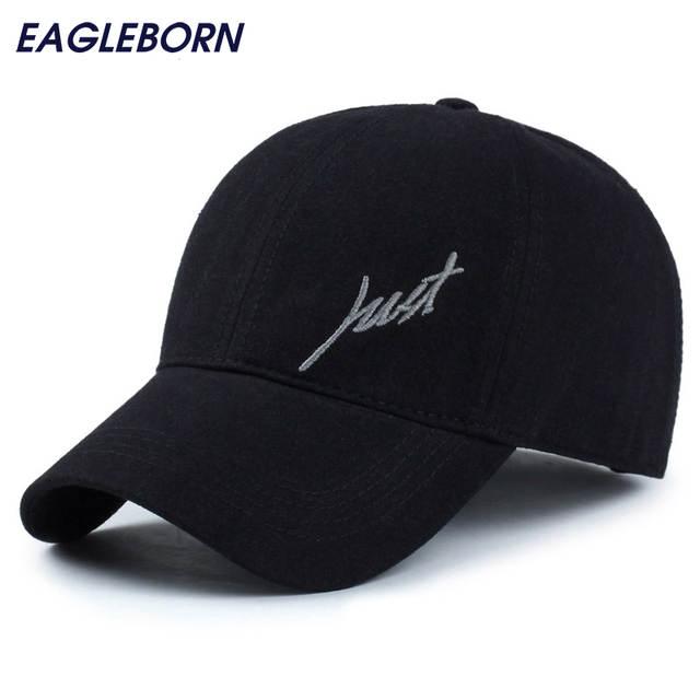 e35803c152c4 2019, 100% de los hombres de algodón gorras de béisbol solo logo unisex  gorra de béisbol para hombres mujeres al aire libre snapback sombreros ...