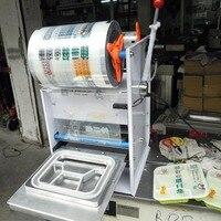 Semi automatic lunch box sealing machine Trays, cup sealing machine Tea sealing machine