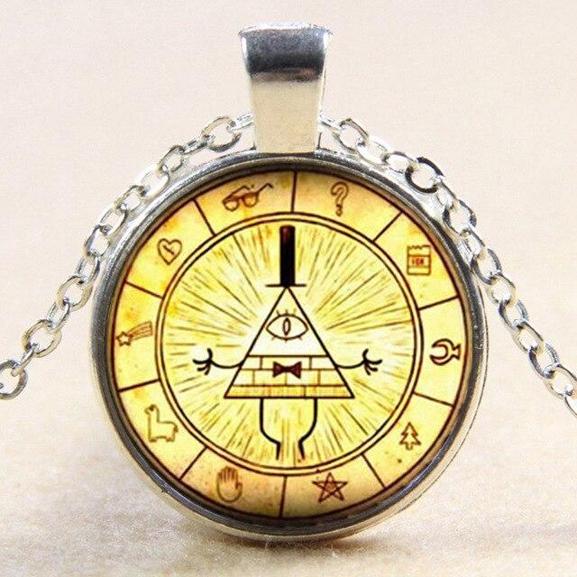 Doctor Who Bill Cipher Wheel Pendant