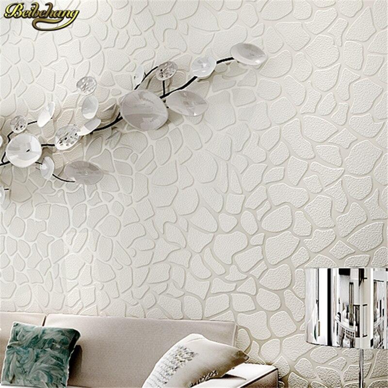 Beibehang blanc pierre papier peint boutique gris mode simple moderne femmes boutique papier peint 3D stéréo salon papel de parede