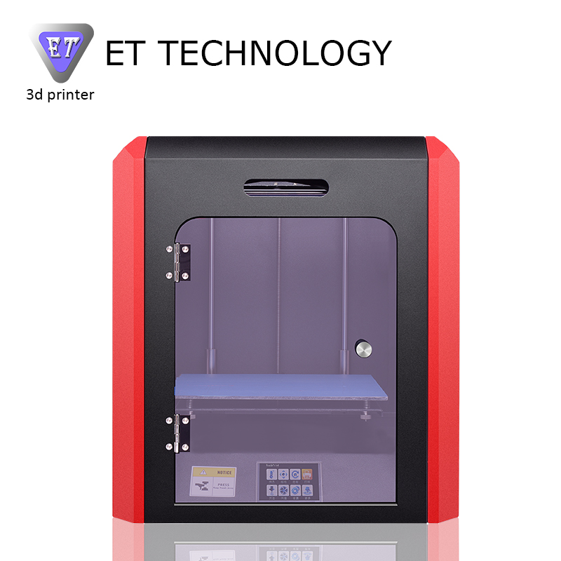 2017 New Arrival Versatile 3D tiskalnik ET K1 3 D Printer Machine Color Touch Screen Metal