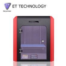 2017 Новое Прибытие Универсальный 3D tiskalnik ET K1 3-D Принтер машины Цветной Сенсорный Экран Металлический Каркас Reprap Высокая Скорость, Большой кровать