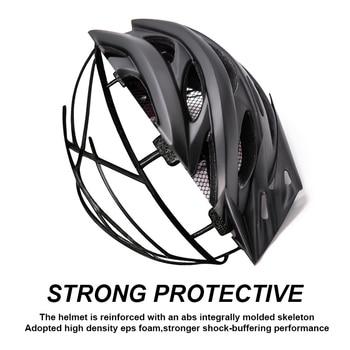 Bicycle Helmets Matte, Black, Men Women  Back Light MTB Integrally Molded 10