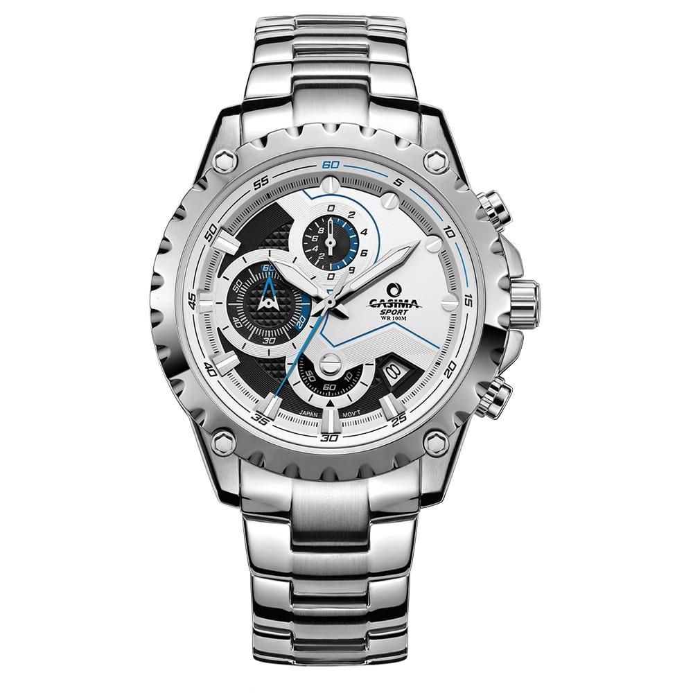 ФОТО CASIMA New Luxury brand Men's Watches Fashion MultiFunction Charm Sport silicone Quartz Mens Watch Waterproof relogio masculino
