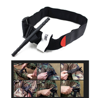 Quick Release Outdoor Sports Tactical Military Medical Buckle One Hand CAT Combat Application Tourniquet