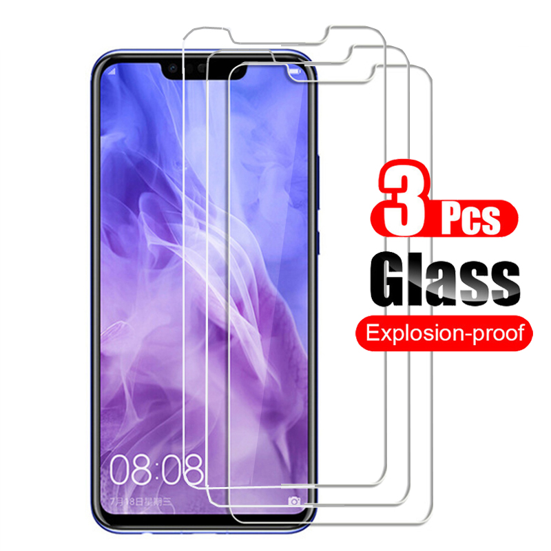 3Pcs Tempered Glass For Huawei Nova 3 3i 3E Screen Protector Guard Protective Glass Film 9H On For Huawei Nova3 3i 3e