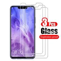3 piezas de vidrio templado para Huawei Nova 3 3i 3E Protector de pantalla Protector de vidrio Protector 9 H para huawei Nova3 3i 3e