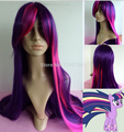 2015 Wholesale free shipping Twilight Sparkle My Little Pony Cosplay Wig- 32 inch High Temp - CosplayDNA Wigs