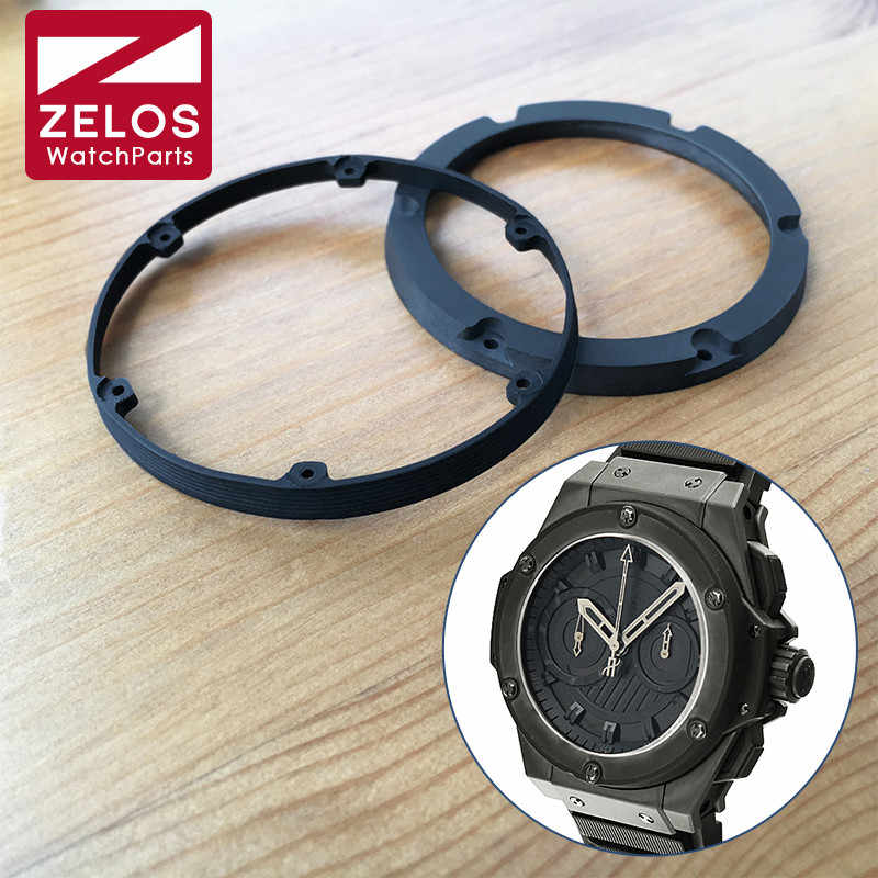 rubber bezel for HUB Hublot King Power 48 mm automatic watch