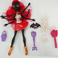 The Most Popular With Children 28CM Fashion Doll Removable Black WYDOWNA Spider Polyarticular girls monsters toys high doll