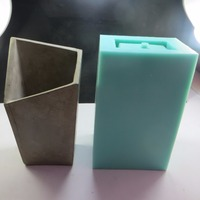 SN0015 Silicone cement lamp concrete mold lampshade DIY Irregular geometry mould silicone molds cement concrete moulds