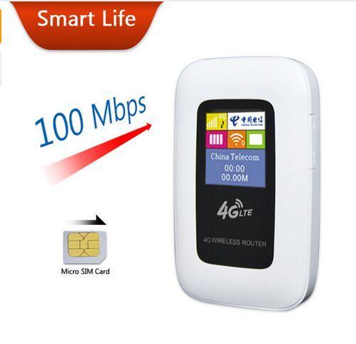 2015 Новая Поддержка LTE WCDMA Gsm Беспроводной Карманный Маршрутизатор мобильный WiFi Hotspot 3 Г 4 Г Wi-Fi Маршрутизатор с СИМ-Карты слот